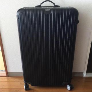 リモワ(RIMOWA)の正規品 RIMOWA スーツケース 黒(スーツケース/キャリーバッグ)