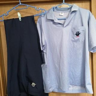 ミズノ(MIZUNO)の水泳連盟公認 競技役員ユニフォーム(ポロシャツ・ズボンLサイズ)(その他)