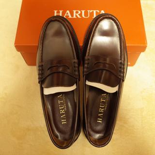 ハルタ(HARUTA)のHARUTA ハルタ 本革 ローファー 3E 906 26.5(ドレス/ビジネス)