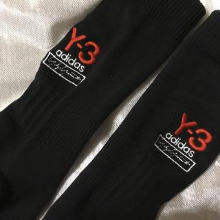 ワイスリー(Y-3)のY-3 ソックス ブラック 新品(ソックス)