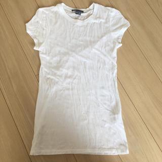 ビンス(Vince)のvince ホワイトTシャツ XS(Tシャツ(半袖/袖なし))