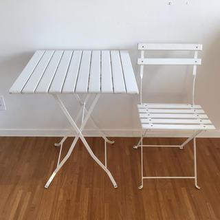 キャトルセゾン(quatre saisons)のキャトルセゾン折り畳みテーブルセット(折たたみテーブル)
