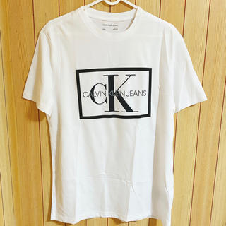 カルバンクライン(Calvin Klein)の【海外限定★USサイズMラスト1点】カルバンクライン Tシャツ(Tシャツ/カットソー(半袖/袖なし))