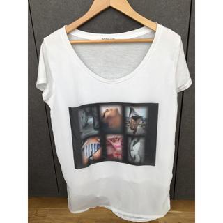 スパイラルガール(SPIRAL GIRL)のデザインシャツ(Tシャツ(半袖/袖なし))