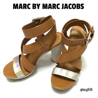マークバイマークジェイコブス(MARC BY MARC JACOBS)の【美品】MARC BY MARC JACOBS サンダル 35.5(サンダル)