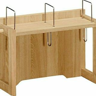 カリモクカグ(カリモク家具)のカリモク ブックスタンド(電話台/ファックス台)