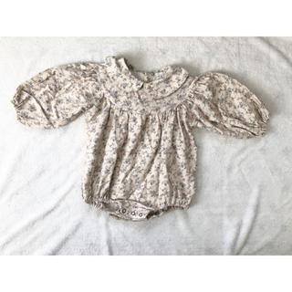 コドモビームス(こども ビームス)の韓国子供服 monbebe  フラワーロンパース L(ロンパース)