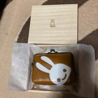 キューン(CUNE)のCUNE 栃木レザー がま口コインケース 美品(コインケース/小銭入れ)