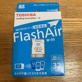 トウシバ(東芝)のTOSHIBA Flash Air 32GB(デジタル一眼)