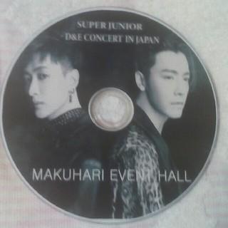 スーパージュニア(SUPER JUNIOR)のSUPER  JUNIOR D&E CONCERT JAPAN (ミュージック)