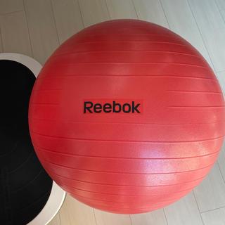 Reebok - 【美品】バランスボール Reebok レッド 65㎝