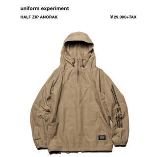 ユニフォームエクスペリメント(uniform experiment)のuniform experiment half zip anorak アノラック(マウンテンパーカー)