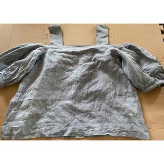 ラグナムーン(LagunaMoon)のLAGUNAMOON オフショルダー(カットソー(半袖/袖なし))