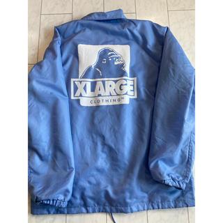 エクストララージ(XLARGE)のXLサイズ XLARGE COACHES JACKET コーチジャケットブルー(ナイロンジャケット)