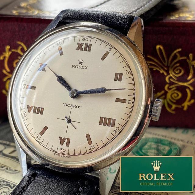 ROLEX - 【豪華】美品 ROLEX ★ ロレックス アンティーク 手巻き機械式腕時計 希少の通販