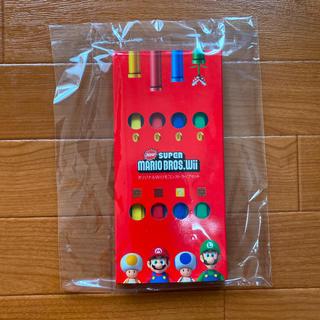 Wii - 任天堂 Nintendo Wiiリモコン ストラップ マリオ 非売品