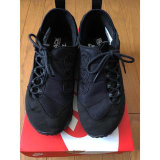 ブラックコムデギャルソン(BLACK COMME des GARCONS)のNIKE AIR FOOTSCAPE×CDG コムデギャルソン サイズ26.0(スニーカー)