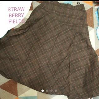 ストロベリーフィールズ(STRAWBERRY-FIELDS)のSTRAWBERRYFIELDSスカート(ロングスカート)