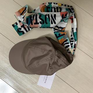 コドモビームス(こどもビームス)のウルフアンドリタ リボン付きキャップ(帽子)