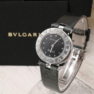 BVLGARI - 極美品✨ブルガリ ビーゼロワン ✨動作確認済  新品ベルト レディース 腕時計