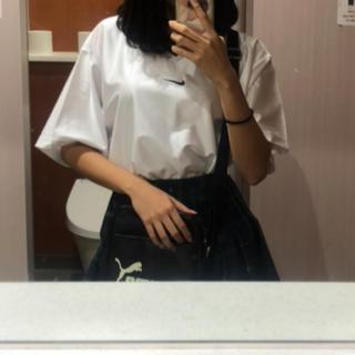 ナイキ(NIKE)のNIKE サテンTシャツ(Tシャツ/カットソー(半袖/袖なし))