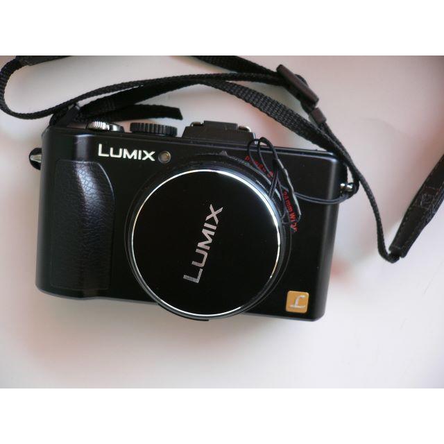Panasonic(パナソニック)の美品 パナソニック Panasonic LUMIX DMC-LX5 ライカレンズ スマホ/家電/カメラのカメラ(コンパクトデジタルカメラ)の商品写真