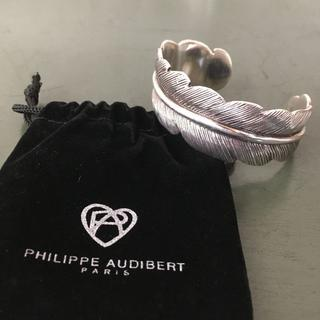 フィリップオーディベール(Philippe Audibert)のPHILIPPE AUDIBERT フェザーバングル USED(ブレスレット/バングル)