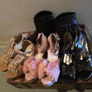 アクシーズファム(axes femme)の新品 アクシーズファム 靴 まとめ売り(サンダル)