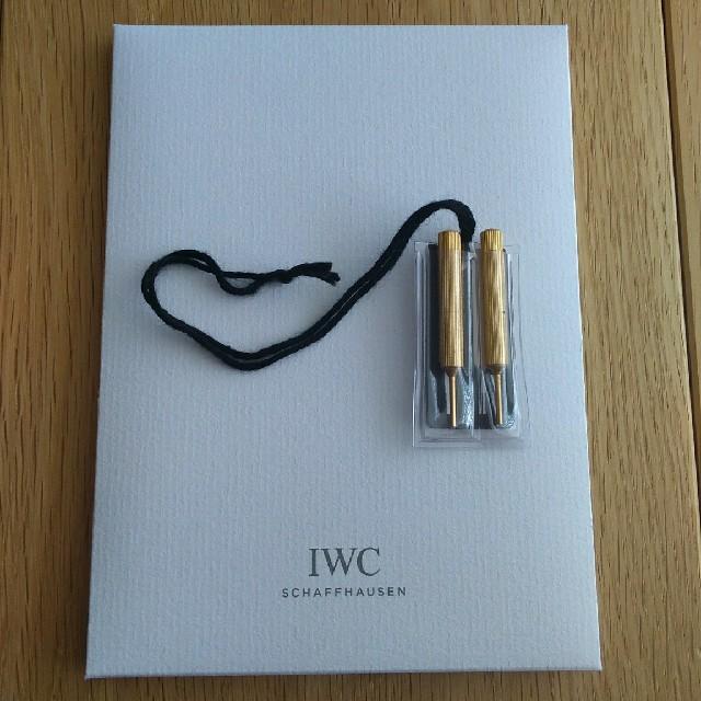 IWC - 非売品!IWC 純正時計クロス&プッシュピースの通販