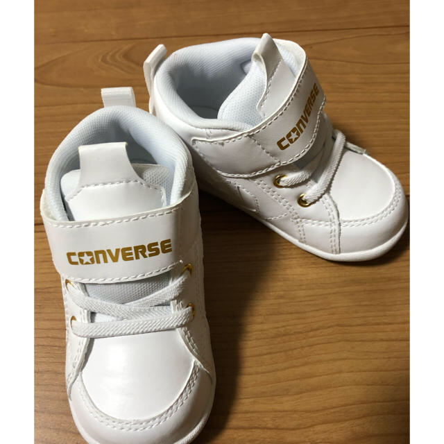 CONVERSE(コンバース)の未使用 コンバース ミニ インチスター スニーカー キッズ/ベビー/マタニティのベビー靴/シューズ(~14cm)(スニーカー)の商品写真