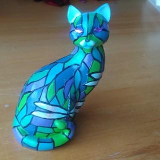 ティファニー(Tiffany & Co.)のtiffany 猫の置物(置物)