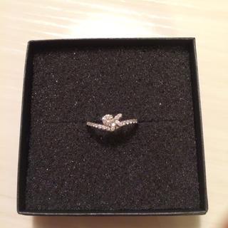 オンワード樫山 0.37ctダイヤ指輪(リング(指輪))