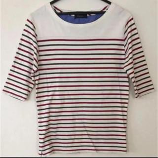 RAGEBLUE - RAGEBLUE レイジブルー 五分袖Tシャツ メンズ  Lサイズ  ボーダー