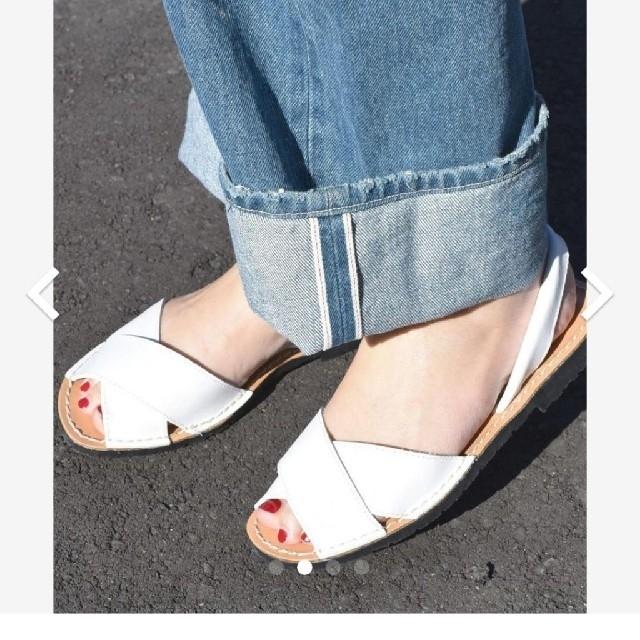 SHIPS(シップス)のSHIPS SKA クロスアバルカサンダル レディースの靴/シューズ(サンダル)の商品写真