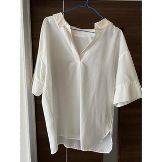ナイスクラップ(NICE CLAUP)のナイスクラップ 襟抜き シャツ(シャツ/ブラウス(半袖/袖なし))