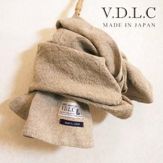 ネストローブ(nest Robe)の新品V.D.L.C✨Voler dans le Ciel リネン100%ストール(ストール/パシュミナ)