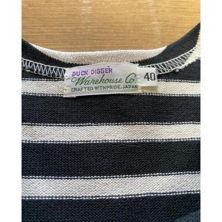 ウエアハウス(WAREHOUSE)の新品 未使用 ウエアハウス ボーダー7分(Tシャツ/カットソー(七分/長袖))