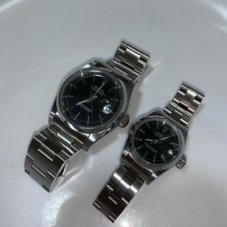 ペア腕時計 1つジャンク(腕時計)