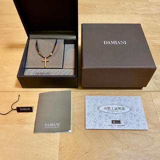 ダミアーニ(Damiani)のダミアーニ メトロポリタン ネックレス ピンクゴールド 6Pダイヤ(ネックレス)