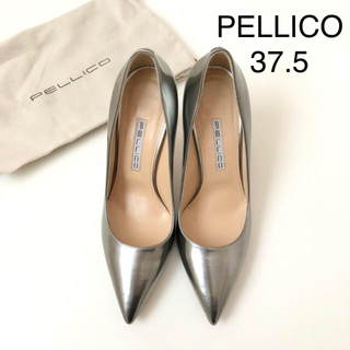 PELLICO - 試着のみ 美品 ★ PELLICO cora シルバーパンプス
