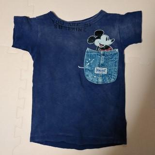 DENIM DUNGAREE - ミッキーTシャツ