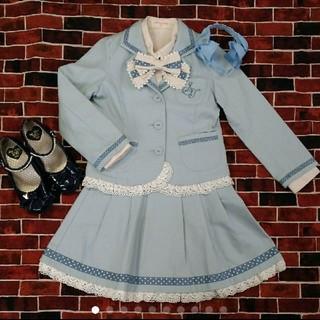 シャーリーテンプル(Shirley Temple)の❤120cm  シャーリテンプル セレモニースーツ❤(ドレス/フォーマル)