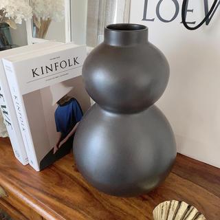 ザラホーム(ZARA HOME)のひょうたんデザインフラワーベース 花瓶(花瓶)