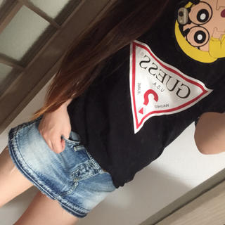 ロデオクラウンズ(RODEO CROWNS)のロデオ デニムスカート(ミニスカート)