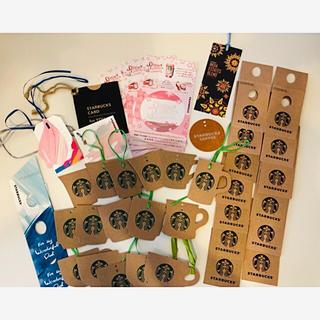 スターバックスコーヒー(Starbucks Coffee)のスターバックス ラッピングメッセージカード(カード/レター/ラッピング)
