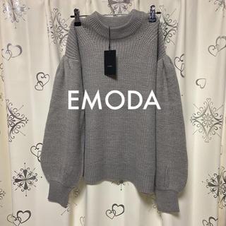 エモダ(EMODA)のボリュームスリーブニット(ニット/セーター)