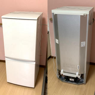 SHARP - SHARPシャープ ノンフロン冷凍冷蔵庫 137L SJ-D14B 2016年製
