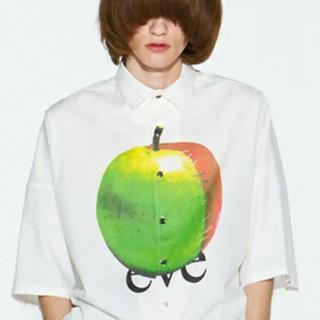SHAREEF - SHAREEF アップル 半袖 big shirts appleりんご eve