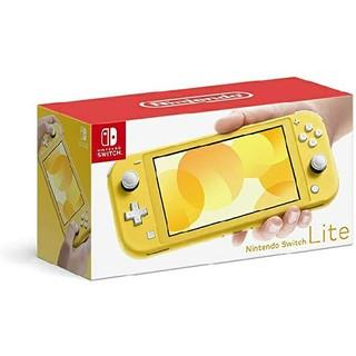 switch lite 黄色(家庭用ゲーム機本体)