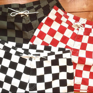 STANDARD CALIFORNIA - SD Checker Surf Shorts(SDチェッカーサーフショーツ)
